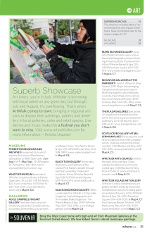 "Where Whistler Summer 2012, ""Superb Showcase"""