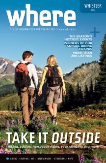 Where Whistler Summer 2012 Cover