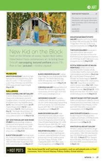 "Where Whistler Winter 2011, ""New Kid on the Block"""