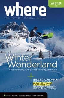 Where Whistler Winter 2011 Cover