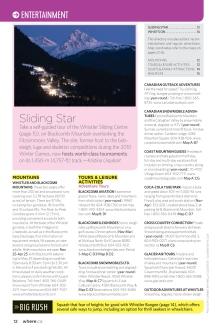 """Where Whistler Winter 2011, """"Sliding Star"""""""